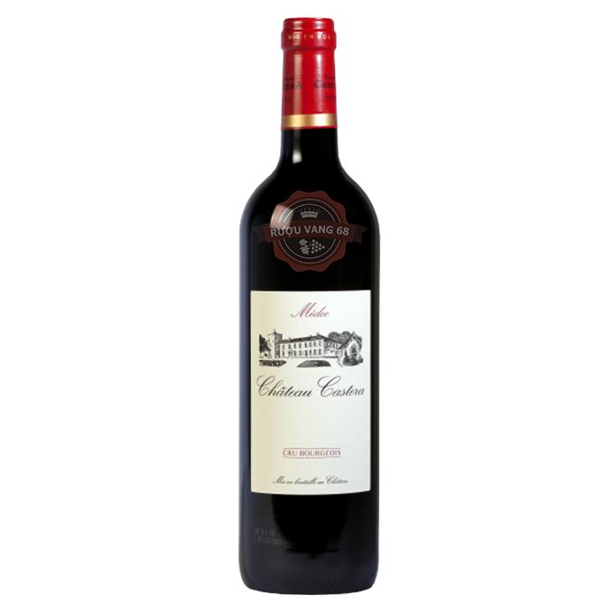 Rượu Vang Pháp Chateau Castera Aoc Medoc Cru Bourgeois Superieur
