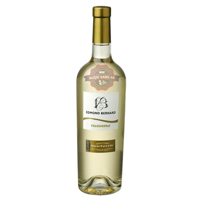 Rượu Vang Pháp Edmond Bernard Chardonnay